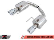 AWE Tuning Touring Edition Axle Back Exhaust - Ford Mustang Ecoboost