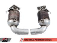 AWE Tuning Porsche 991.2 Carrera/Carrera S Performance Catalysts (non PSE models)