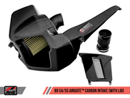 AWE Tuning AirGate Carbon Fibre Intake Kit - S4 and S5 B9