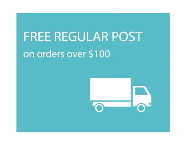Free Regular Post Over $100