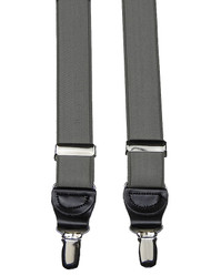 Pewter Satin Braces