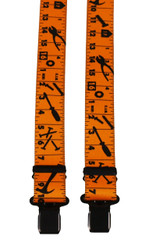 Yellow Tape Measure Braces