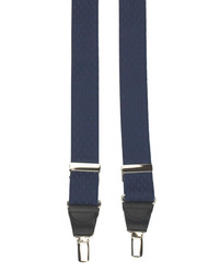 Navy Diamond Braces