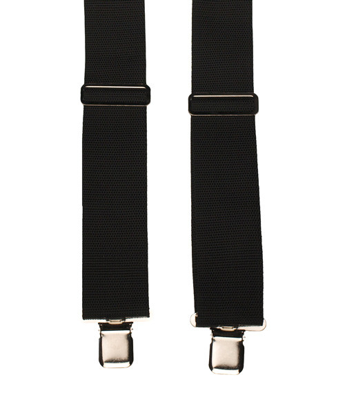 Black Padded Work Braces