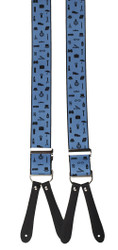 Blue Gentlemens Braces