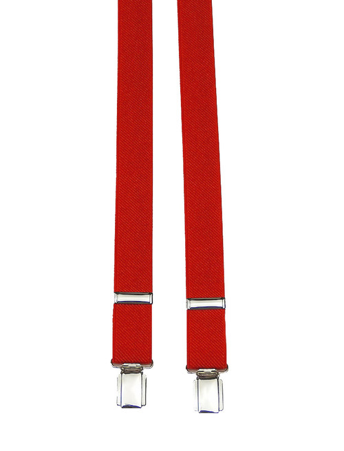 Red H-Back Braces