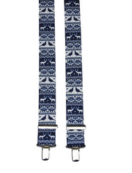 Blue Festive Braces