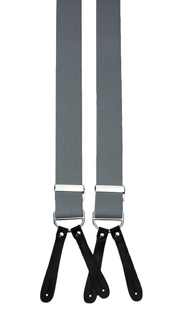 Light Grey Button On Braces
