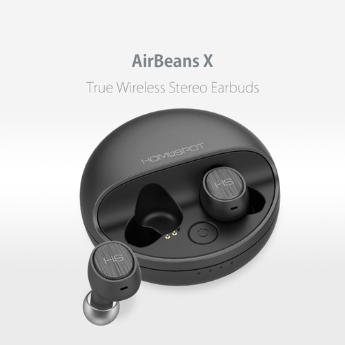 58732f3fe99 HomeSpot AirBeans X True Wireless Earbuds Stereo Headphones with Charging  Case Noise Reduction Echo Cancellation Bluetooth Headphones Sweatproof  Earphones