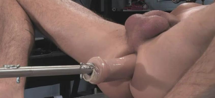 Mechanical anal sex