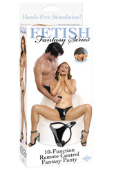 Fetish Fantasy 10-Function Remote Control Fantasy Vibrating Panties