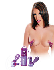 Fetish Fantasy Vibrating Nipple Pumps