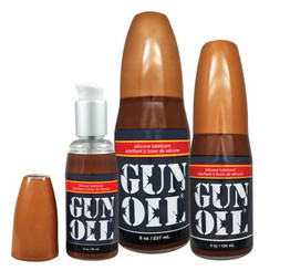 Gun Oil Silicone Lube - 2 oz