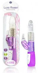 Luxe Rabbit Vibrator Purple