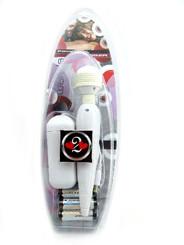 Mini Power Wand Hand Massager White