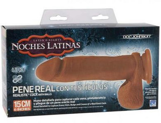 Noches Latinas Pene Real 6 inch Dildo