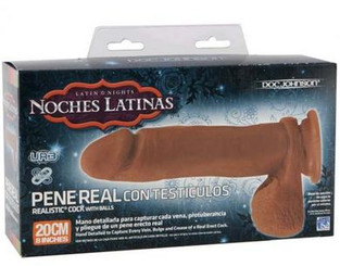 Noches Latinas Pene Real 8 inch Dildo