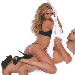 Whip Smart Pleasure Sex Swing - White