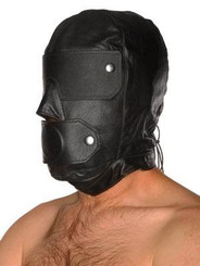 Slave Mask W/ Gag Blindfold