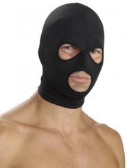 Spandex Hood with Mouth and Eye Openings