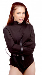Strict Leather Black Canvas Straitjacket- Small