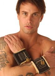 Strict Leather Black Hospital Style Restraints- Wrists