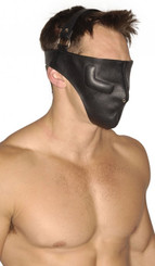 Strict Leather Full Face Bondage Mask - ML