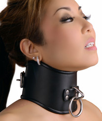 Strict Leather Locking Posture Collar- Medium