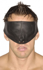 Strict Leather Upper Face Mask - ML
