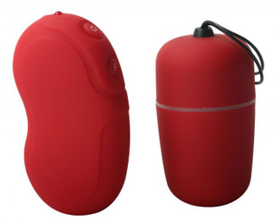 Trinity 10 Speed Red Remote Egg Vibrator