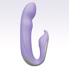 Velvet Plush 7X Zuma Vibrator - Purple