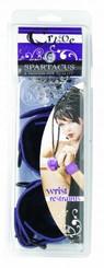 Wrist Restraints W/Fur Purple