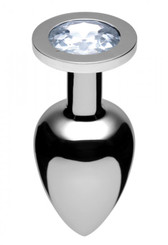XL Jewel Butt Plug, Diamond