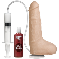 Vac-U-Lock 9 inch Squirting Dildo - Vanilla