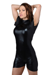 Dripping Wet Surf Short Latex Bondage Body Suit- SM