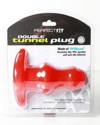 D-Tunnel Butt Plug X Large Red