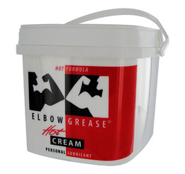 Elbow Grease Hot Cream Personal Lube 0.5 Gallon