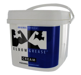 Elbow Grease Original Cream Personal Lube 0.5 Gallon