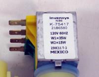 218658000 * priority Refrigerator Ice Water Solenoid Valve