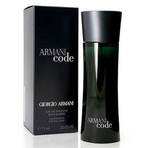 Armani Code For Men Eau de Toilette 2.5 oz Spray
