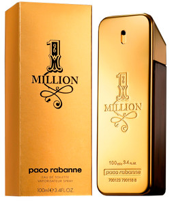 Paco Rabanne One Million 3.4 oz Eau de Toilette For Men