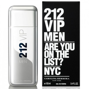 212 VIP Men by Carolina Herrera 3.4 oz Eau de Toilette