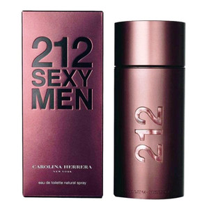 212 Sexy Men by Carolina Herrera 3.4 oz Eau de Toilette