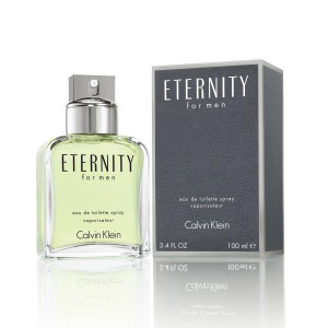 Calvin Klein Eternity For Men 3.4 oz Eau de Toilette