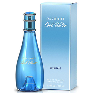 Cool Water Woman by Davidoff 3.4 oz Eau de Toilette