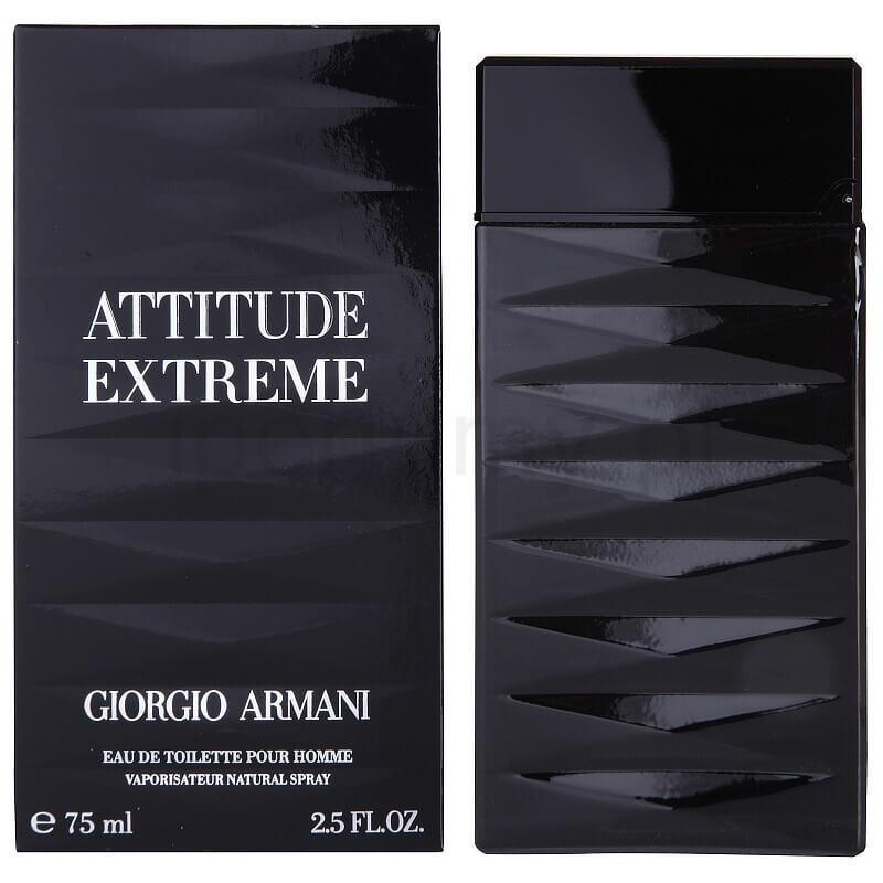 Armani Attitude Extreme Eau De Toilette 25 Oz Spray Perfumebff
