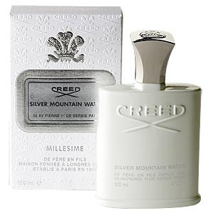 No Box - Creed Silver Mountain Water For Men 4 oz Spray