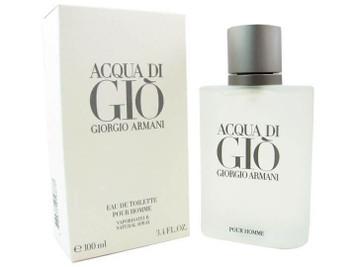No Box - Acqua Di Gio Eau de Toilette For Men 3.4 oz Spray