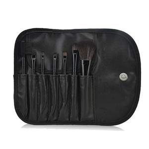 Make Up Brush Set In Black 7 pcs * Free Shipping *