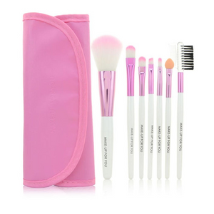 Make Up Brush Set In Pink 7 pcs * Free Shipping *